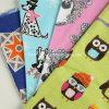 Tissu 100% coton en flanelle pour pyjamas imprimé imprimé (C20X10 / 40X42)