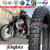 Tiefes Muster-Naturkautschuk 80/100-14 Motorrad-Reifen/Gummireifen