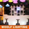 Tabela comercial iluminada diodo emissor de luz moderna da barra da mobília