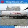 総標準三車軸45cbmディーゼルまたはガス管線または石油タンカートレーラー45000リットルの燃料タンクの
