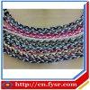 Dreifaches umsponnenes Seil-Ionentitanbaseball-Halskette