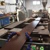 Nova Condição WPC PVC PE Perfil composto de plástico de madeira da linha de produção
