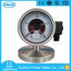 indicateur de pression électrique de contact de joint de membrane d'acier inoxydable de 4  100mm