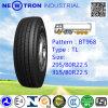 Bt968 295/80r22.5 Radial-LKW-Reifen für Stahl-und Schlussteil-Räder