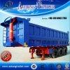 Heißes Sale 3-Axle Tipping Dump Semi Trailer mit Hydraulic Cylinder