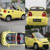 電気小型車の明るい色