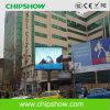 Diodo emissor de luz ao ar livre elevado da definição P10 de Chipshow que anuncia a placa