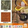 Marmor glasig-glänzende Porzellan Flooe Fliese mit dunkelgrünem (JM8607)