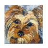 Pitture a olio Handmade del cane smorzato per la decorazione della parete