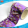 Película del empaquetado plástico del papel higiénico de la fábrica en película modificada para requisitos particulares rodillo del empaquetado plástico