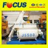 Mélangeur concret d'arbre jumel durable continu du mélangeur concret Js500