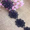 高品質のヒマワリの水溶性のトリムの刺繍のレース