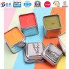 Kerze-Zinn-Behälter-Quadrat-Form-Metallkasten für Kerze-Kasten