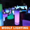 LED軽いプラスチック円形の屋外ビールクーラー表
