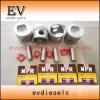 4BB1 4BB1t 6BB1 6BB1t 4BD1 4bd1t el anillo del pistón camisa del cilindro Kit para las piezas del motor Isuzu