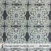 Algodão Geométrico Padrão Padrão Raschel Lace Tecido (M3405)