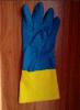 двойной неопрен промышленное Glove-5641 цвета 18mil