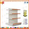 Il doppio personalizzato di lusso del ferro ha parteggiato scaffalatura del supermercato della visualizzazione (Zhs511)