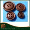 Кнопка отверстий оптовой продажи 4 фабрики естественная деревянная для одежды