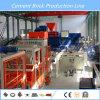 Máquina de fabricación de ladrillo automática concreta de la pavimentadora con control del PLC