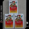 Cartões de jogo do Spiel de Skat Beim