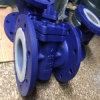 Vanne à robinet de la garniture FEP pour le support corrosif