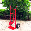 Carga 250 kilogramos de la capacidad del color rojo de carretilla de la mano (HT1830)