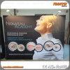 Feira profissional Fabric Pop acima Display de Aluminum Portable da promoção