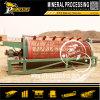 Pequeña planta rotatoria de la colada de la minería aurífera de la máquina de la preparación de menas de la pantalla