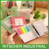 De Kantoorbehoeften van de Agenda van het Briefpapier van het Oefenboek van het Boek van de Nota van het Stootkussen van de kleur