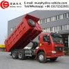 Цилиндр Sinotruk HOWO 6X4 371HP 40tons гидровлический используемый для тележки сброса