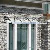 Hermoso estilo de fácil montaje de plástico de bricolaje marquesinas toldos ventana