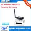 Cámara de Sky-HD01 Fpv HD 1080P con el transmisor video Fpv de Digitaces de la radio de la lente +400MW Fpv 32CH de la rotación no