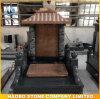 Design chinês monumento do tejadilho