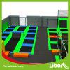 Профессиональный квадратный крытый скача строитель парка Trampoline