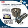 Máquina de enchimento dobro pneumática da pasta das cabeças para o creme de pele (G2WGD500)