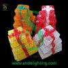 LEDのギフト用の箱ライトクリスマスのモチーフライト