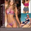 Высокое качество дамы Sexy плавательный костюм пляжную женской линии бикини (TZXM013)