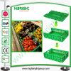 Scomparti pieghevoli di plastica del grande supermercato per le verdure e le frutta