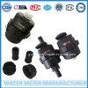 Contador del agua plástico de nylon del agua del negro volumétrico del contador de Dn15-25mm
