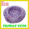 Bases coralinas cómodas suaves del gato del perro del terciopelo (WY1610112-3A/C)