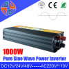 1000W 12V 24V 48V DC 110V AC 220V de onda sinusoidal pura inversor para el coche