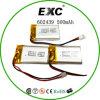 bateria do polímero do lítio 602439 500mAh em Shenzhen