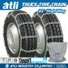 Correntes de pneu do caminhão da roda da maneira elevada de Atli 22's únicas