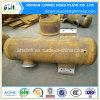 Raccord de tuyau tube en acier au carbone le couvercle du réservoir avec bride de raccordement