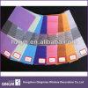 La cebra del uso de la ventana del color del arco iris ciega la tela