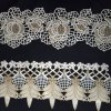 Garniture de dentelle avec cordon d'or utilisé sur Lady Vêtements