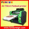 Funsun 2016 novo dirige à impressora do vestuário com cores principais do branco 8 do tamanho Dx5 Cmyk de A3 A4 (1440dpi, a melhor qualidade, o melhor preço)