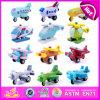2015 горячие продажи детей деревянные игрушки самолетов, новый дизайн ребенка деревянная игрушка полета самолета, рождественские подарки из дерева на борту самолета и вертолета W04A153