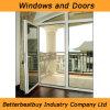 Schieben der UPVC Tür für Balkon